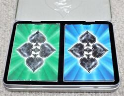 Kool Cigarettes Double Pack Of Smooth Spades Playing Cards In Presentation Tin