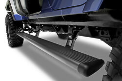 AMP Research PowerStep Folding Running Boards Fits JEEP WRANGLER 4-DOOR (07-18)