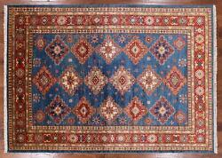5and039 10 X 8and039 0 Hand Knotted Super Kazak Wool Rug - P8927