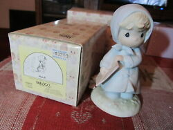 Precious Moments March Birthday Month Figurine With Box