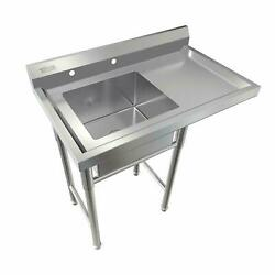 Commercial Utility 39quot; Stainless Steel Sink Silver for Outdoor Laundry Room New $279.99