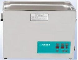 New Crest 7 Gallon Cp2600d Ultrasonic Heated Cleaner