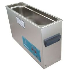 New Crest Powersonic P1200d 45khz Ultrasonic Cleaner Power Control With Basket