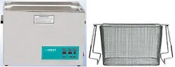 New Crest 2.5 Gallon Cp1200d Ultrasonic Heated Cleaner And Basket