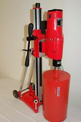 Bluerock® Tools 12z1 T/s Core Drill 2 Speed W/ Vacuum Pump And Tilting Stand