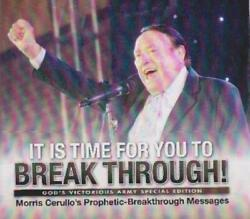 Morris Cerullo's It Is Time For You To Break Through 12 Dvd Set Prophetic Word