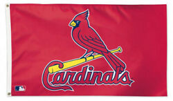 St. Louis Cardinals Huge 3'x5' Official Mlb Baseball Deluxe Flag By Wincraft