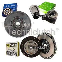 Luk 2 Part Clutch Kit And Sachs Dmf With Valeo Csc For Lancia Thesis Saloon 2.4