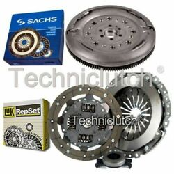 Luk 3 Part Clutch Kit And Sachs Dmf For Audi A1 Hatchback 1.6 Tdi