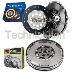 Sachs 3 Part Clutch Kit And Luk Dmf For Audi A4 Saloon 1.8