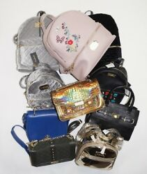 BEBE Designer Wholesale Lot Backpacks Crossbody Handbags Purses $175.00
