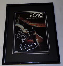 2010: The Year We Make Contact Cast Signed Framed 8x10 Poster Display JSA