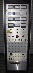 X-ray Test Rack / Power Supply - 840-40a Dc Power Supply-alarms -meters 1437