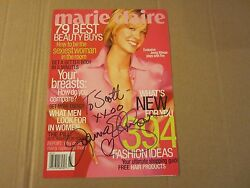 Jenna Elfman Actress Autographed Signed 8x11 Magazine Cover Dharma And Greg