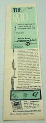 1960 Print Ad South Bend Power Flex Fishing Rods Made In Chicago,il