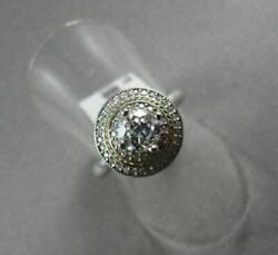 Antique Round Diamond 0.75ct 14kt White And Yellow Gold Engagment Ring