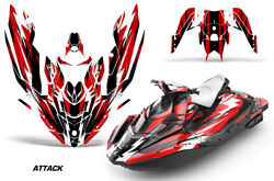 Jet Ski Graphics Kit Decal Wrap For Sea-doo Bombardier Spark 2 Up 14-18 Attck R