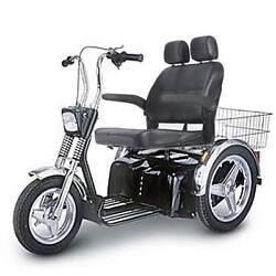 Afiscooter Se 3 Wheel Mobility Scooter 7.4 Mph Wide Seat