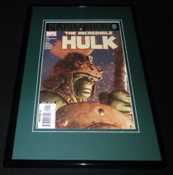 Incredible Hulk 94 Framed 11x17 Cover Display Official Repro Planet Hulk