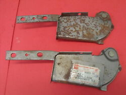 Nos 1980s Chevrolet Chevy Luv Landr Hood Hinges Series 11 / 12 Part No. 94217433