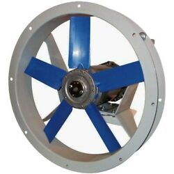 12 Flange Mounted Exhaust Fan - 500 Cfm - 230/460 Volts - 3 Ph - 1/3 Hp - Tefc