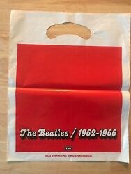 RARE FRENCH BAG FOR THE BEATLES FOR DOUBLE BLUE AND RED CD COMING OUT $19.99