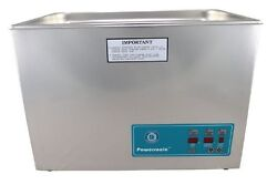 New Crest Powersonic P1800d 45khz Ultrasonic Cleaner With Power Control W/basket