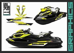 Seadoo Rxt Rxtx Is As Rs 255 260 300 For 2009-2017 Graphics Kit Decals Kit