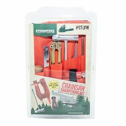 Chainsaw Deluxe Sharpening Kit W/ Stump Vice, For Small Saws 5/32 File,cflvw532