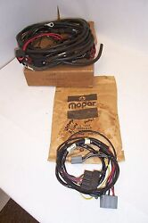 Mopar Nos 1969 Charger Head Lamp Head Light Wiring And Vacuum Hose 2983438 2926510