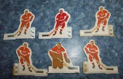 Coleco Hockey Team Detroit Red Wings 1972 Table Top Hockey 3