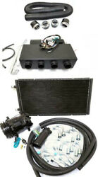 Universal Underdash Air Conditioning Heat Cool Ac Evaporator Kit W/ Hoses Vents