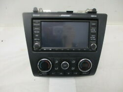 2011 Nissan Altima AM FM CD Navigation Radio w Climate Control Unit OEM LKQ