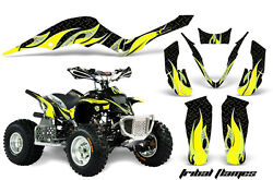 Atv Graphic Kit Decal Sticker Wrap For Apex Pro Shark 70/90 2006-2009 Tribal Y K