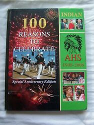 2008 Anderson High School Yearbook Anderson, Indiana The Indian Unmarked