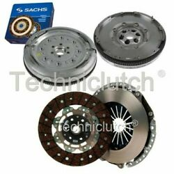 Nationwide 2 Part Clutch Kit And Sachs Dmf For Audi A3 Hatchback 2.0 Tdi Quattro