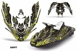 Jet Ski Graphics Kit Decal Wrap For Sea-doo Bombardier Spark 2 Up 14-18 Swift Y