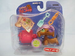 Littlest Pet Shop Dachshund Pirate Dog 307 Authentic Lps Brand New Exclusive