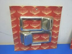 Lifetime Nut Covers 0435-436-hvk,kenworth 2002 - 2005 Right And Left Vent Cover