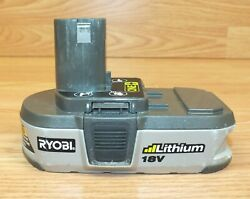 Genuine Ryobi P103 18V Battery Rechargeable Battery *PARTS NOT WORKING*