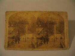 New Orleans Expo Horticultural Hall Stereoview Photo cdii AS-IS