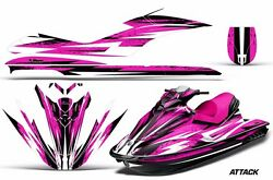 Jet Ski Graphics Kit Decal Sticker Wrap For Sea-doo Gti 130 2006-2010 Attack Pnk
