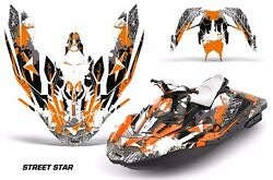 Jet Ski Graphics Kit Decal Wrap For Sea-doo Bombardier Spark 3 Up 15-18 Ststar O