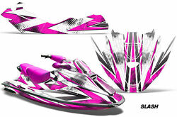 Jet Ski Graphics Kit Decal Sticker Wrap For Sea-doo Gtx Rfi 1996-1999 Slash Pink