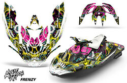 Jet Ski Graphics Kit Decal Wrap For Sea-doo Bombardier Spark 3 Up 15-18 Frenzy Y