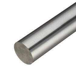 304 Stainless Steel Round Rod, 3.500 3-1/2 Inch X 24 Inches