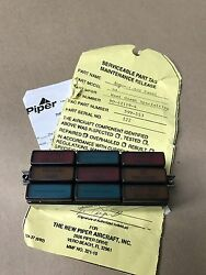Piper Pa-28 Warrior Archer Indicator Light Assembly 90-42119-4 227