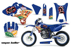 Graphics Kit Decal Sticker Wrap + Plates For Wr 250/450f 2003-2004 Vegas Blue