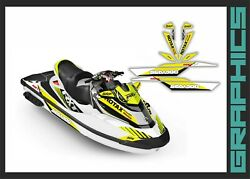 Seadoo Rxt Rxtx Is As Rs 255 260 300 Graphics Kit Decals Set For 2009-2017 Wrap