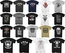 Pre-sell Cbgb Home Of Underground Rock Music Licensed T-shirt 1